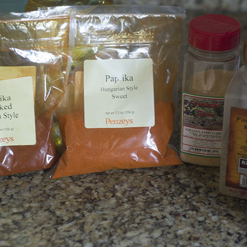 Spices Ingredients