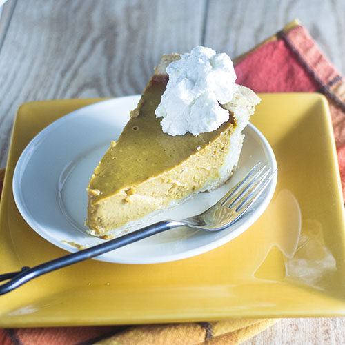 Thanksgiving Pumpkin Pie from Feed Your Soul Too