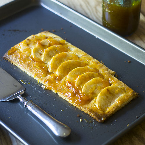 Easy Apple Tart Recipe from Feed Your Soul Too