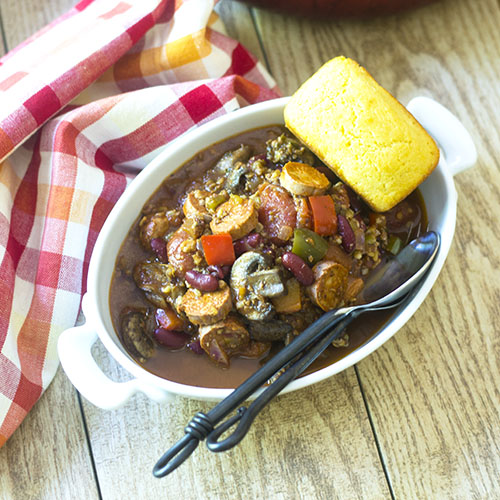 Vegan all in the Pot Chili from Feed Your Soul Too