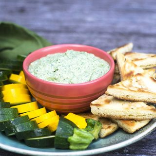 Easy Herb Green Goddess Dip