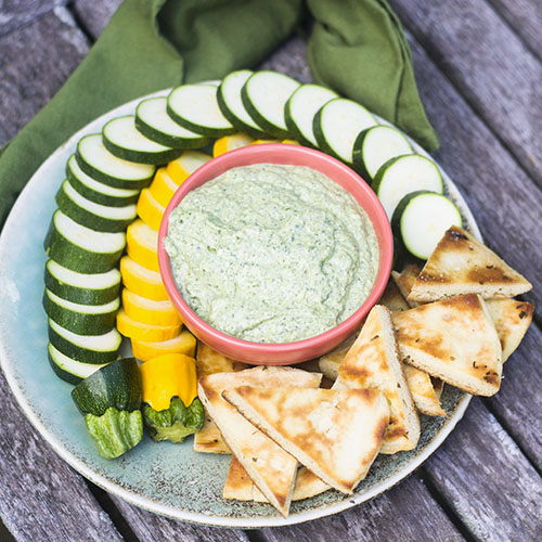Green Goddess Dip from Feed Your Soul Too