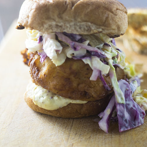 Southern Fried Chicken Sandwich from Feed Your Soul Too