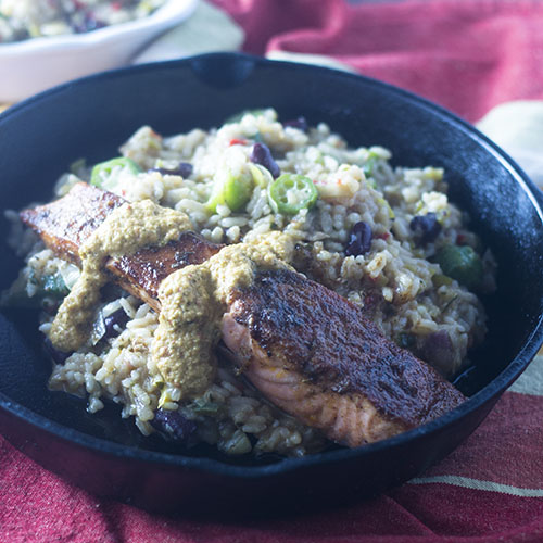 How to Make Blackened Salmon #diy #seafood #cajunrecipe | feedyoursoul2.com