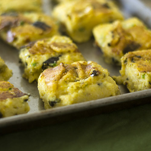 Cheesy Poblano Polenta Bake from Feed Your Soul Too
