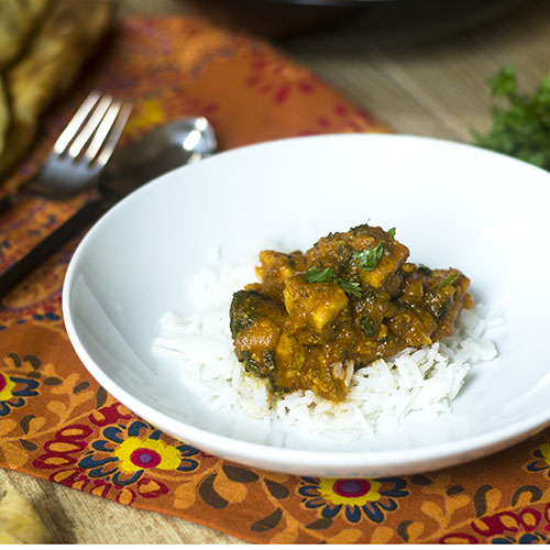 Easy Chicken Curry Recipe from Feed Your Soul Too