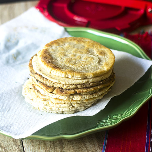 Gluten Free Tortillas from Feed Your Soul Too