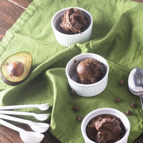 Vegan Chocolate Avocado Mousse from Feed Your Soul Too
