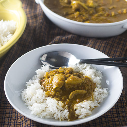 Authentic Chicken Curry #Indianfood #chicken #curry | feedyoursoul2.com