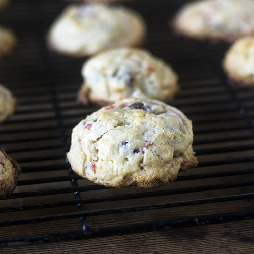 Chocolate Chip Strawberry Cookies from Feed Your Soul Too