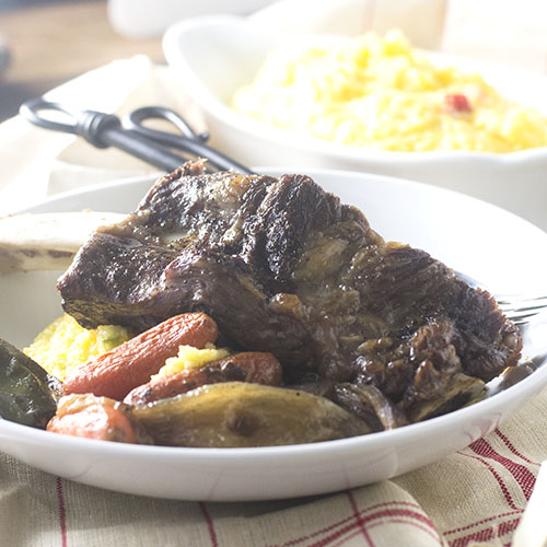 Pressure Cooker Beef Ribs #Pressurecooker #beefribs #dinner | feedyoursoul2.com