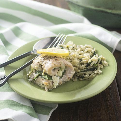 Greek Chicken Roulade #dinner #chicken #roulade feedyoursoul2.com