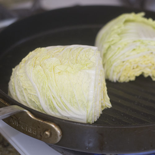 Napa Cabbage Grilling