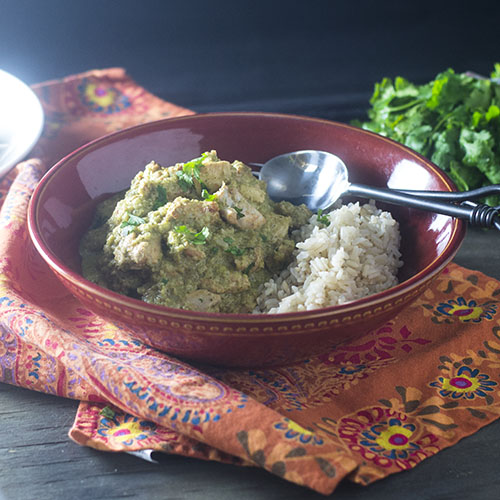 Chicken Korma Recipe from Feed Your Soul Too