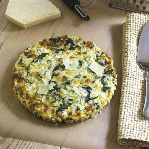Irish Cheddar Cheese Spinach Tart from Feed Your Soul Too