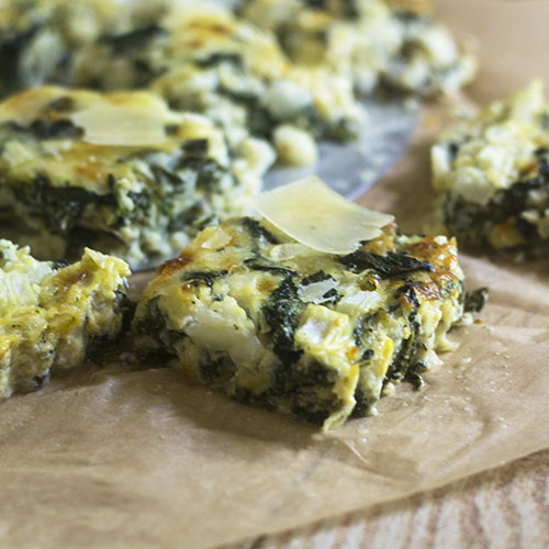 Irish Cheddar Cheese Spinach Tart #appetizer #tart #Irishrecipe #cheese | feedyoursoul2.com
