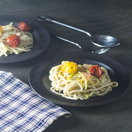 Gluten Free Pasta in a White Wine Sauce #pasta #glutenfree #whitewine | feedyoursoul2.com