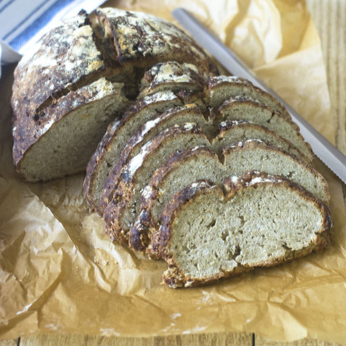 Gluten Free Artisan Oat Bread from Feed Your Soul Too