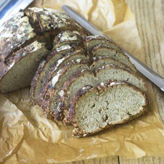Gluten Free Artisan Oat Bread