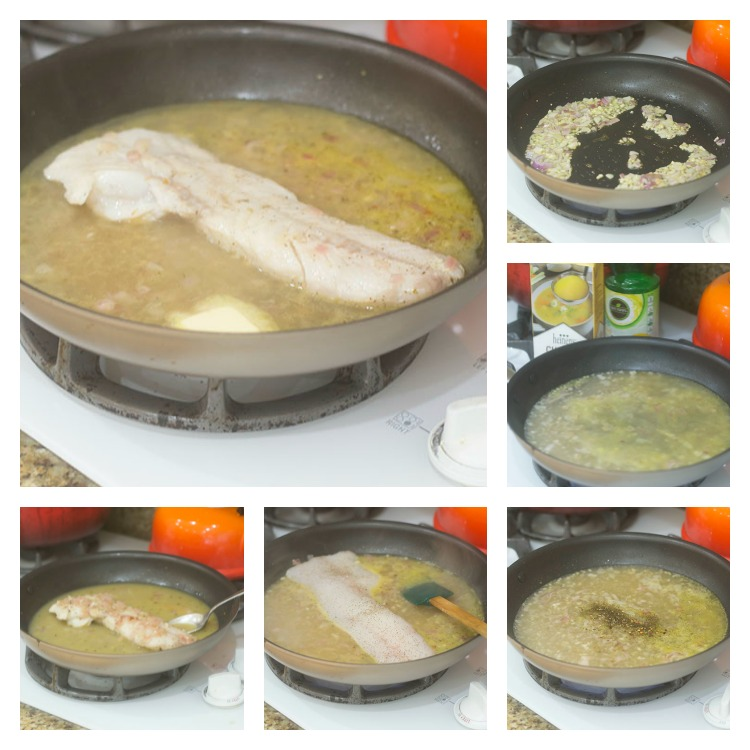 Sauce Development and Braising of the Cod