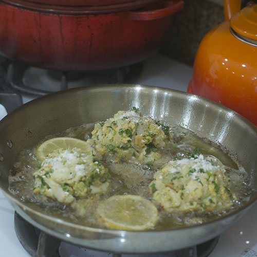 Cod Cakes Pan Frying