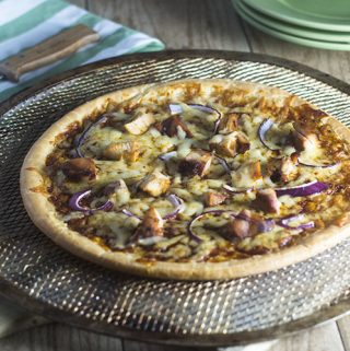 Gluten Free BBQ Chicken Pizza