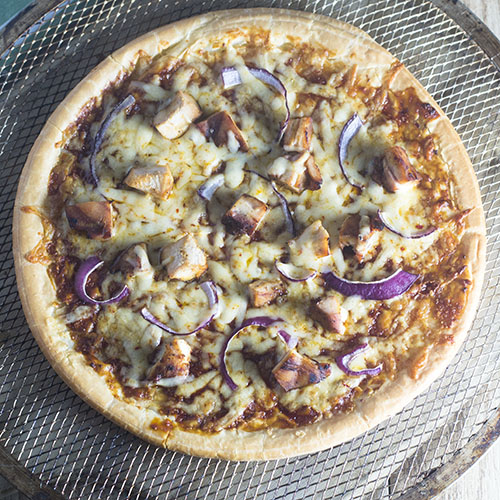 Gluten Free BBQ Chicken Pizza from Feed Your Soul Too