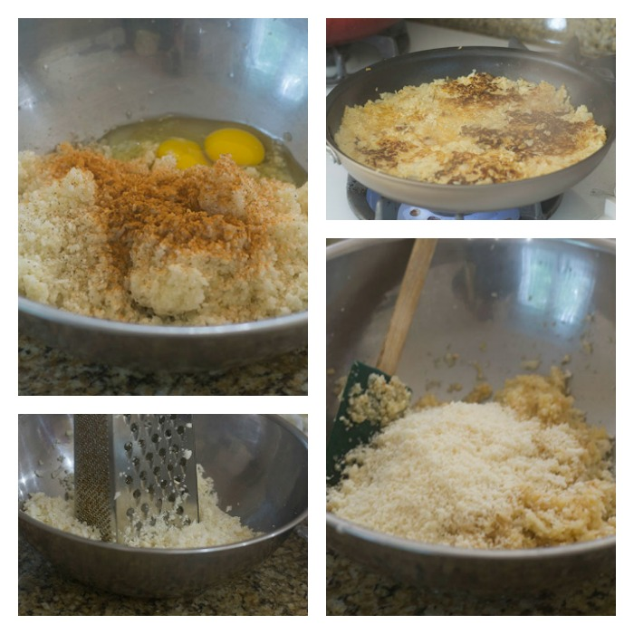 Creating the Cauliflower Mixture