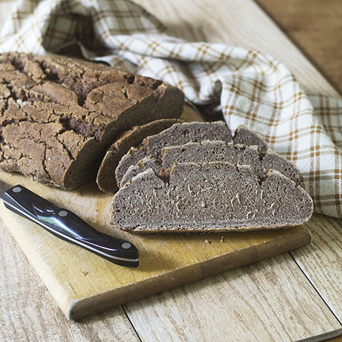 GF Artisan Teff Flour Bread #bread #glutenfree #teffflour #artisan| feedyoursoul2.com