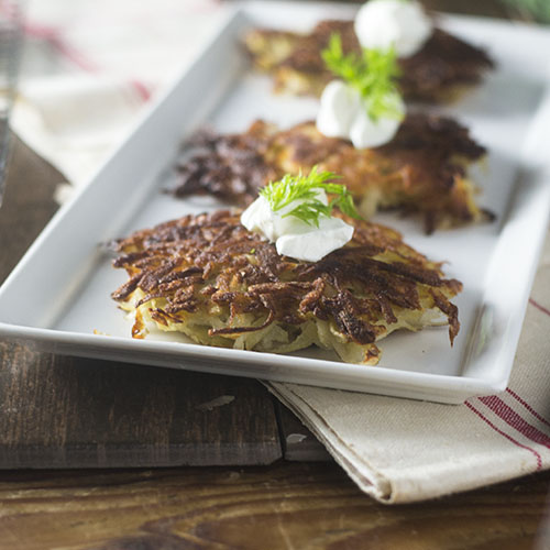 Gluten Free Potato Latkes from Feed Your Soul Too