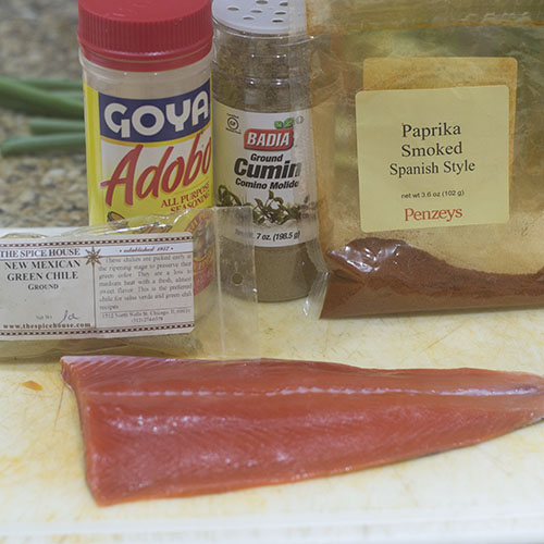 Salmon and Blackening Spices