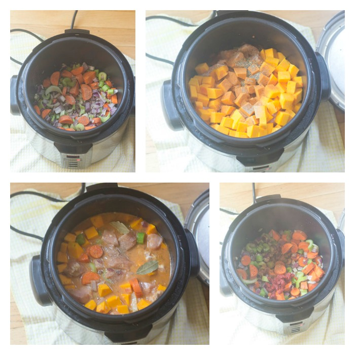 Building the Stew in the Pressure Cooker