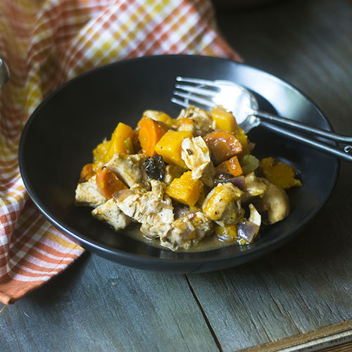 GF Chicken Squash Stew from Feed Your Soul Too