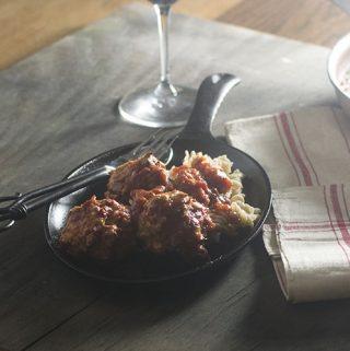 Harissa Spicy Moroccan Meatballs