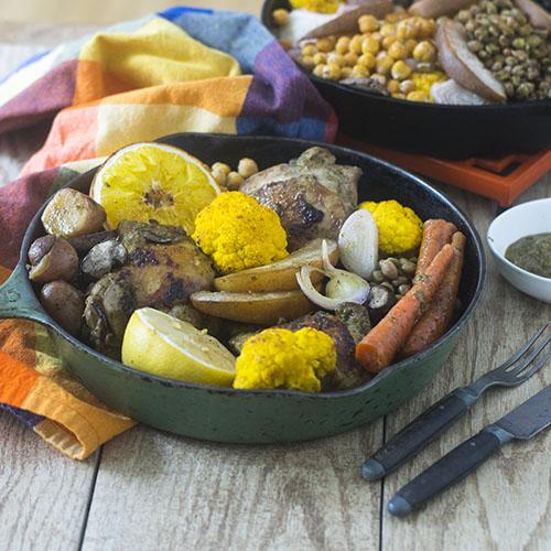 Authentic Jerk Chicken #chicken #glutenfree #peppers #caribbeanfood   feedyoursoul2.com