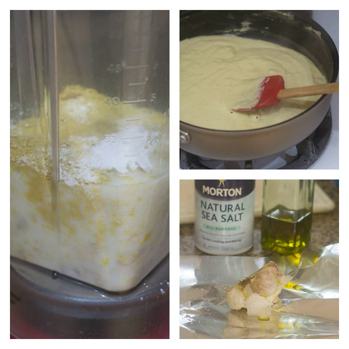Developing the Vegan Alfredo Sauce