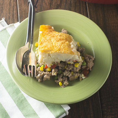GF Turkey Shepherds Pie from Feed Your Soul Too