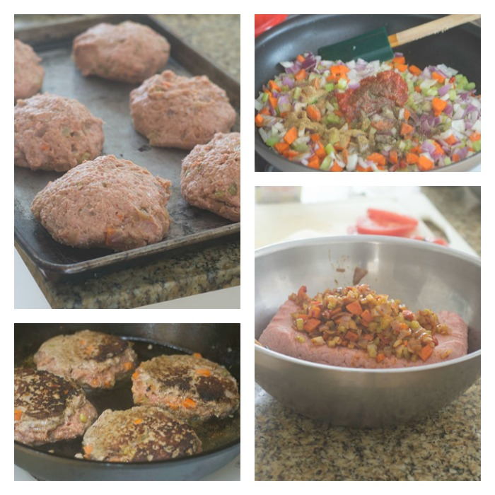 The Flavoring and Forming of the Burgers