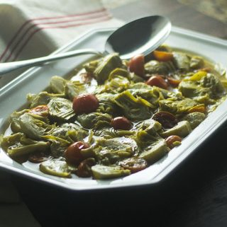 Spanish Marinated Artichoke Appetizer