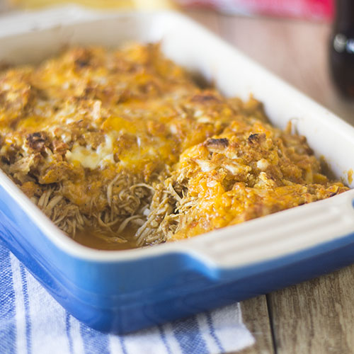 Red Pepper Sauce Chicken Bake from Feed Your Soul Too