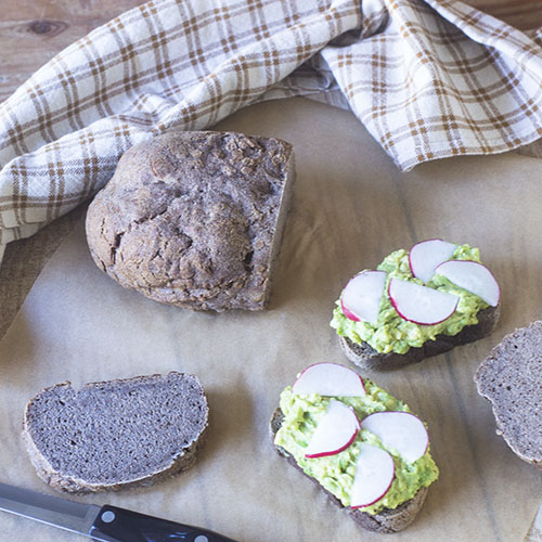 Gluten Free Artisan Rye Bread from Feed Your Soul Too