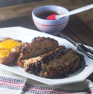 Guchujang Turkey Meatloaf