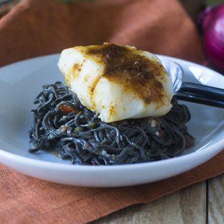 Black Bean Sofrito Alfredo Pasta