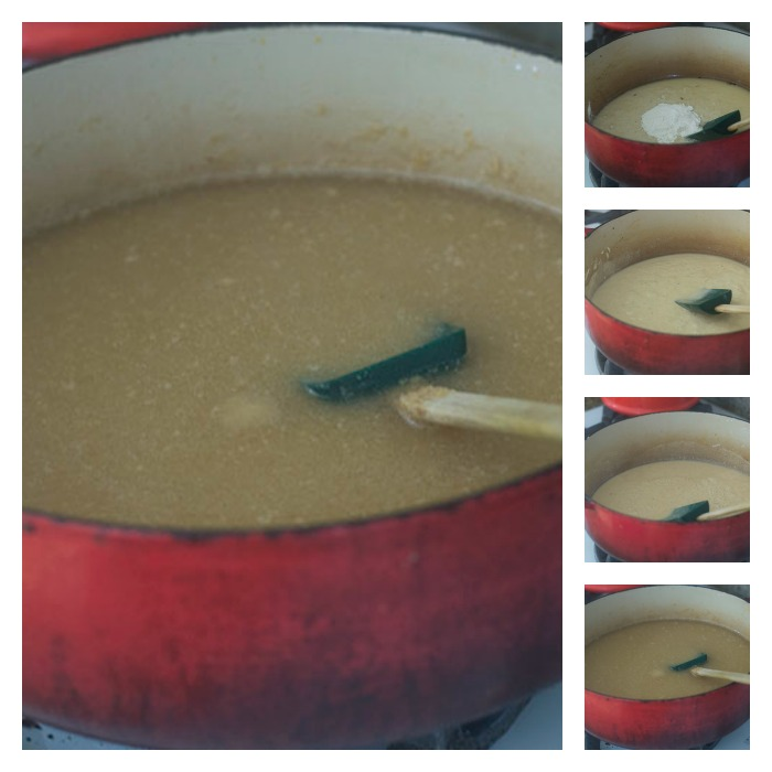 Creating the Caramel Colored Roux