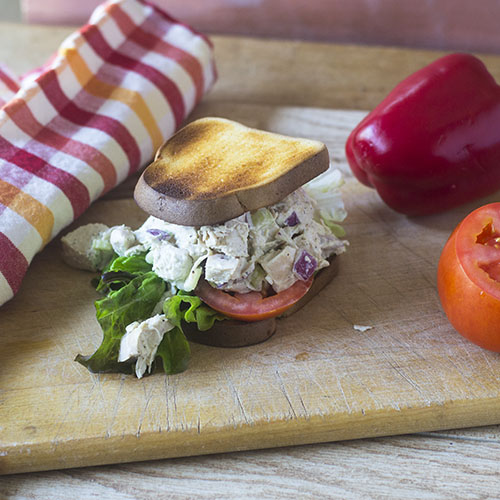 Homemade Chicken Salad from Feed Your Soul Too