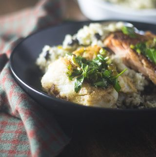 Rodrigo Style Mexican Fish Cauliflower Rice