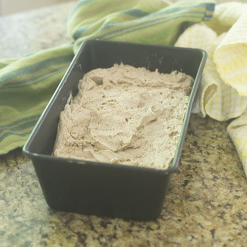 Teff & Millet Flour Dough before Baking