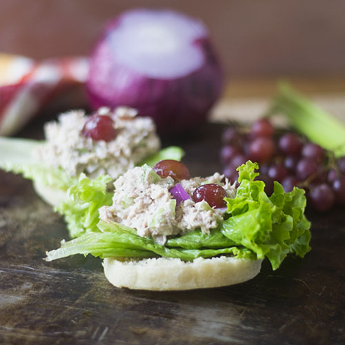 Grape Tuna Salad from Feed Your Soul Too