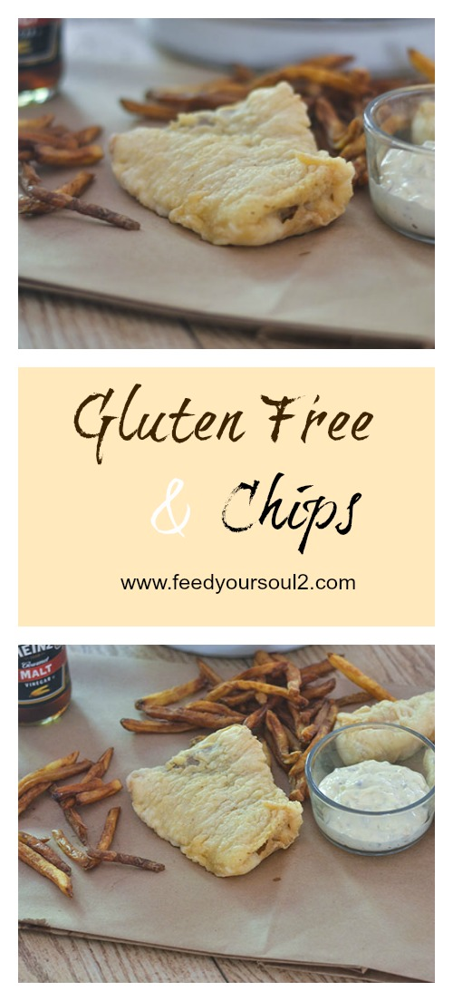 Gluten Free Fish & Chips #seafood #glutenfree #seafood #tempura | feedyoursoul2.com
