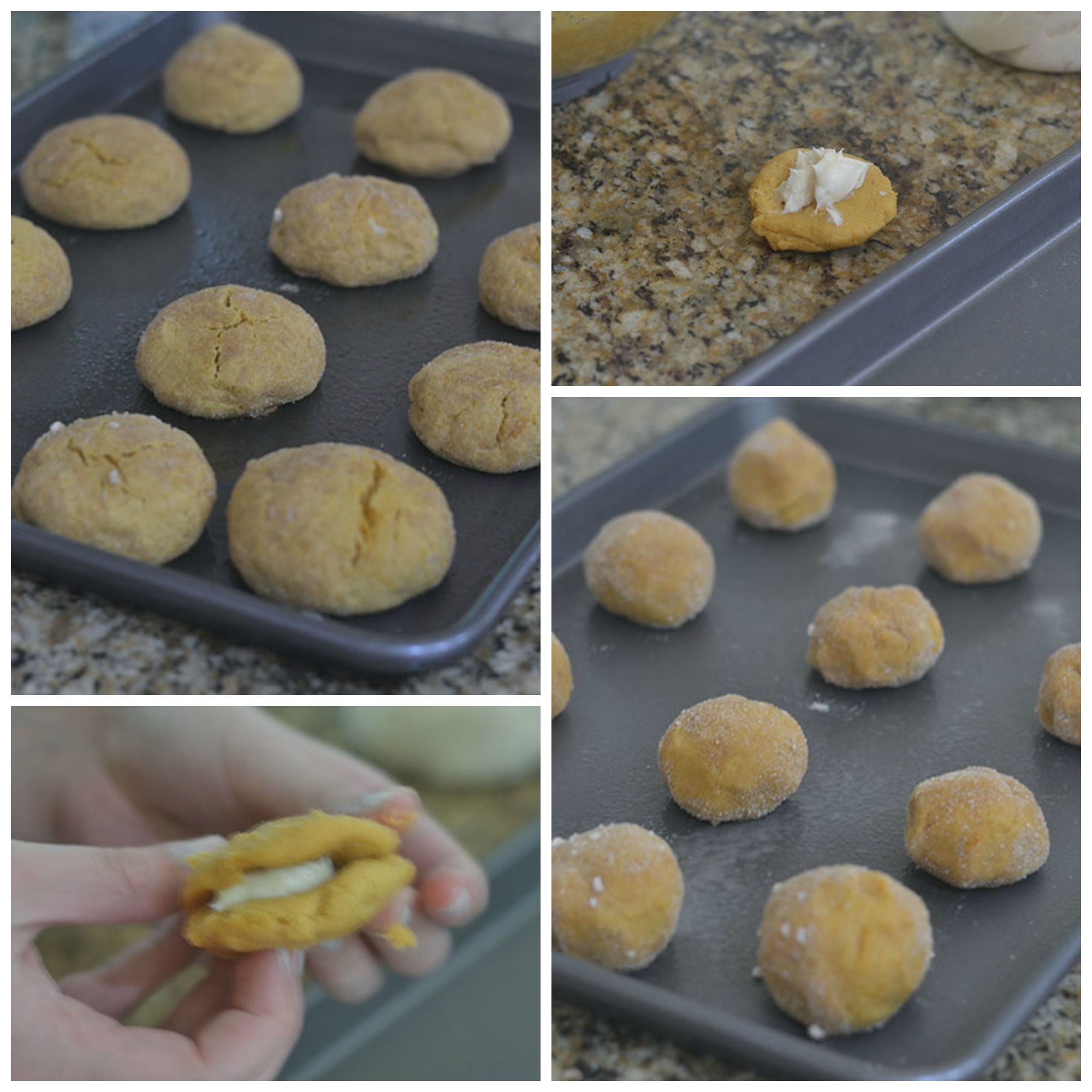 Cookies Formed and Baked